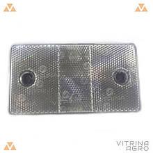 Катафот великий дорожній 124x69x7,5 | КД1-4А (VTR)