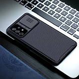 Захисний чохол Nillkin для Samsung Galaxy A72 (CamShield Pro Case) Black з захистом камери, фото 6