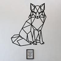Объемная картина из дерева DecArt Fox