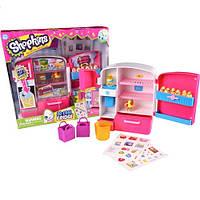 Игровой набор SHOPKINS S2 - ХОЛОДИЛЬНИК (с аксессуарами, 2 эксклюзивных шопкинса, 2 сумочки)