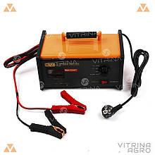 Пуско-зарядний пристрій 24В (12В), 15А (100А старт) світлодіодний індикатор | СИЛА 900211