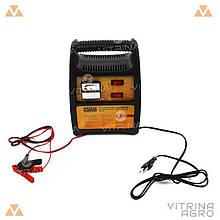 Зарядний пристрій для авто 12В (6В), 12А (стрілочний індикатор) | СИЛА 900210