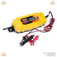 Пристрій зарядний 4А 12В (цифрове імпульсне) | СИЛА 900216