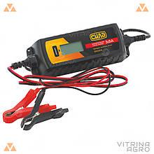 Зарядний пристрій для авто 3,8 А 6/12В (цифрове імпульсне) | СИЛА 900214