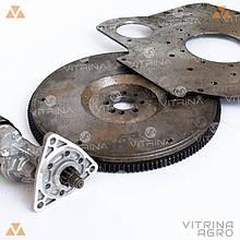 Комплект переобладнання МТЗ переробка на стартер Slovak 2.8 | стартер, плита, маховик VTR