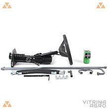 Комплект переобладнання Т-150 (з відкидним кермом) | переробка на насос дозатор VTR