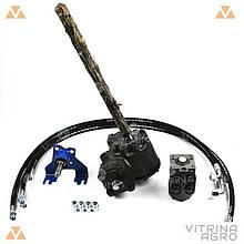 Комплект переобладнання Т-40 на насос дозатор | переробка рульового з ГУРом VTR