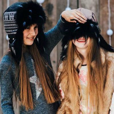 """Зимняя шапка для девочки """"Колин"""""""