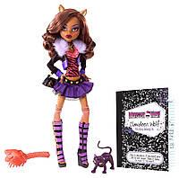 Кукла Monster High Клодин Вульф Базовая с питомцем - Clawdeen Wolf