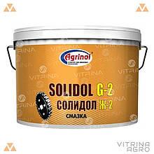 Солидол Ж-2 (Ведро 3л/2,5кг) антифрикционная универсальная смазка │ Агринол 4102816897
