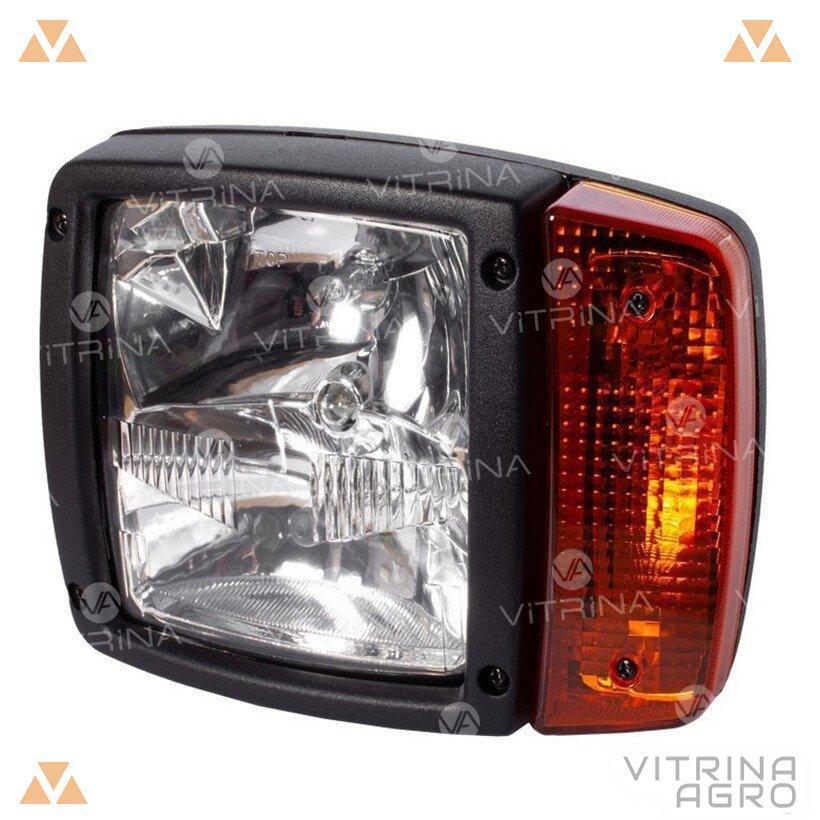 Светодиодная фара LED (ЛЕД) левая 12-24V (210 х 145 х 145) крепл. центр | VTR