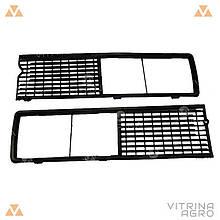 Решетка радиатора ВАЗ 2106 (комплект 2 шт.) | АВТОПЛАСТ 2106-8401012/13