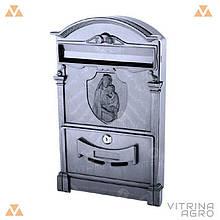 Почтовый ящик - Дева Мария (черный) Пластик   VTR (Украина) PO-0022