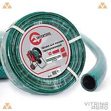 Шланг для поливу - 1/2 х 30 м зелений 3-х шаровий Intertool | GE-4025