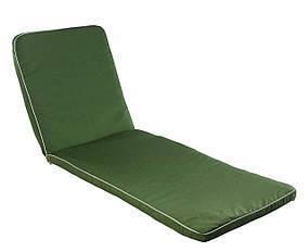 Матрас для шезлонга Baltic ткань Тексилк Кофейно-бежевый меланж, 4240 (ОСТ-ФРАН ТМ) Зеленый меланж, 4213