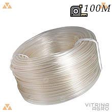 Шланг для поливу - 6 х 100 м (універсал прозорий) Evci Plastik | 7601