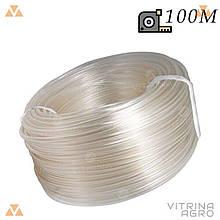Шланг для поливу - 18 х 100 м (універсал прозорий) Evci Plastik | 7607
