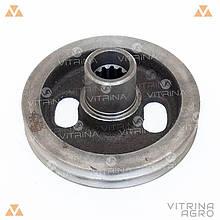 Шкив коленвала (коленчатого вала) МТЗ, Д-245   240-1005131-М VTR