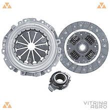 Сцепление ВАЗ 11186 (диск нажимной, ведомый, подшипник) D=200 (комплект)   RIDER (Венгрия)