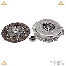 Сцепление ВАЗ 2101 (диск нажимной, ведомый, подшипник) (комплект)   RIDER (Венгрия)