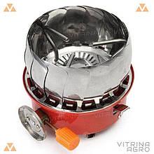 Газова пальник портативна з вітрозахистом Stenson R86807