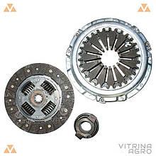 Сцепление ГАЗ 406 (диск нажимной, ведомый, подшипник) (комплект) | RIDER (Венгрия)