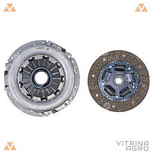 Сцепление ГАЗ 406 универсальное (диск нажимной, ведомый, подшипник) (комплект) | RIDER (Венгрия)