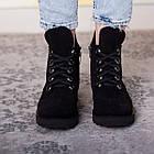 Ботинки женские Fashion Daaku 2647 40 размер 25,5 см Черный, фото 3