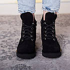 Черевики жіночі Fashion Daaku 2647 36 розмір, 23,5 см Чорний 40, фото 3