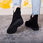Черевики жіночі Fashion Daaku 2647 36 розмір, 23,5 см Чорний 40, фото 6