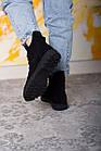 Ботинки женские Fashion Daaku 2647 40 размер 25,5 см Черный, фото 7