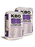 LITOFLEX K80 - цементный клей белый