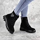Черевики жіночі Fashion Elmo 2267 36 розмір, 23,5 см Чорний, фото 10