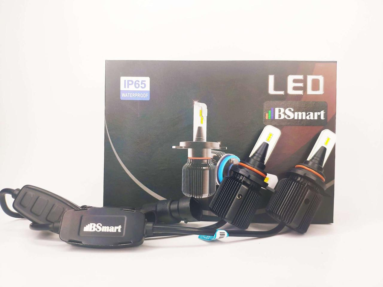 Авто лампи LED світлодіодні M1 CSP Південна Корея 9012 HIR2 8000Лм 40Вт 12-24В