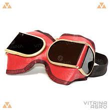 Зварювальні окуляри (захисні) - ЗН8-72 в дермонтине Р-2   VTR (Україна) ZO-0030