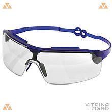Окуляри захисні поворотні дужки, полікарбонатне скло (прозорі) | VTR (Україна) ZO-0044