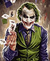 Картина по номерам рисование Artissimo Джокер PNX2008 50х60 см роспись по номерам набор, краски, кисти и холст