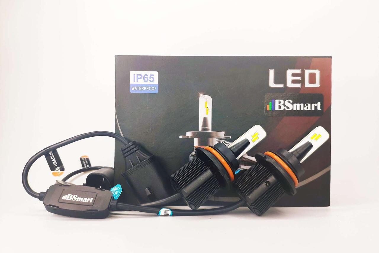 LED светодиодные авто лампы M1 CSP Южная Корея, HB5 9007, 8000 Люмен, 40Вт, 9-32В