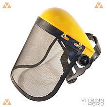Защитный щиток для лица НБТ - 3 мм, сетка | VTR (Украина) ZW-0005