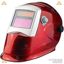 Зварювальна маска Apache Rapid Crystals червона WH 8000 - 8512   VTR (Україна) WH-0003