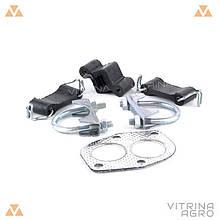 Ремкомплект вихлопної системи ВАЗ 2101-2107 (гумки, хомути, прокладка фланця) | ДМЗ 2101-1203072-32