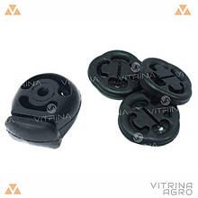 Подушка кріплення глушника ВАЗ 2110, 2111, 2112 комплект | ЕЛАД 2108-1203073-20/21213-12