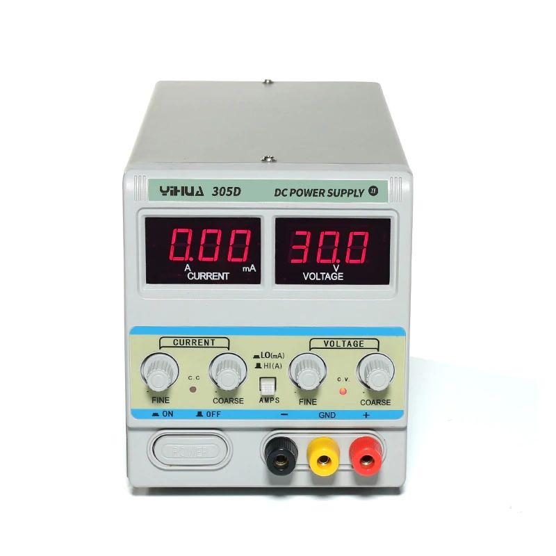 Лабораторний блок живлення YIHUA 305D-ii, 30B 5A