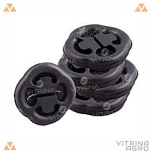 Подушка крепления глушителя ВАЗ 2108, 2109 (комплект 5 шт., блистер. упак) | ЭЛАД 2108-1203073-20