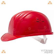 Каска будівельна червона | VTR (Україна) PK-0003