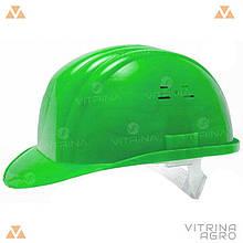 Каска будівельна зелена | VTR (Україна) PK-0004