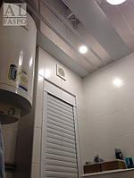 """Французский реечный потолок ППР-КФ: зеркальная панель """"хром"""" (0401)"""