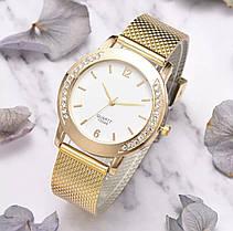 Часы женские золотой цвет, фото 3