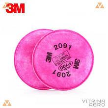 Фильтр для респиратора 3М 6800 (Класс защиты P3) 1шт. | 3М 6800