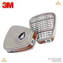 Фильтр к респиратору 3M (компл 2 шт.) | 6001